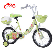 High quality 16 inch kid bike aluminum rim/Yimei 4 wheel baby cycles model top selling/china child cycle with caliper brake