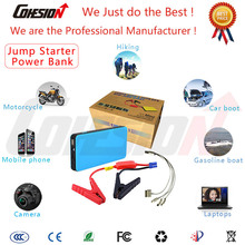 battery power booster jump starter lithium battery jump starter for car and motorcycle