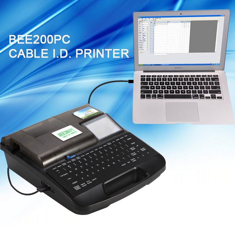 little bee cable marker printer BEE100 BEE100/PC