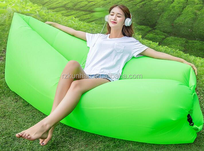 waterproof portable Outdoor Fast Inflatable Best Selling Beach lazy sofa