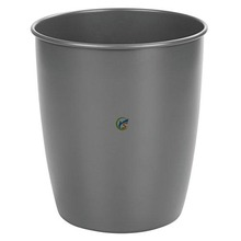 Metal Wastebasket Trash Can for Bathroom, Office, Kitchen
