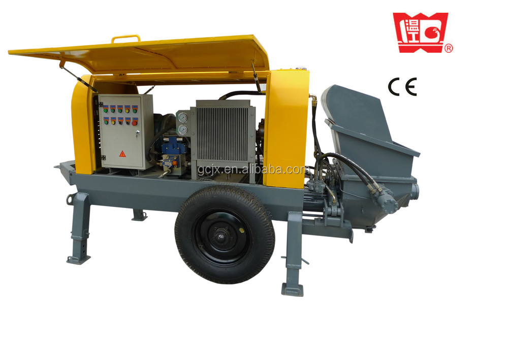 high building ready mix cement concrete pump