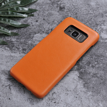 high quality mobile phone leather case for samsung S8, low price china mobile phone cover for S8