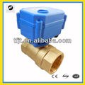 8mm to 25mm 2 way mini motorized bal valve for water treatment system