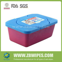 Plastic Tub Baby Wet Wipes OEM Custom