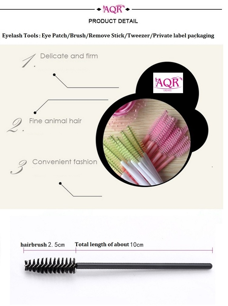 Fashionable Retractable Eyelash Mascara Brush for eyelash
