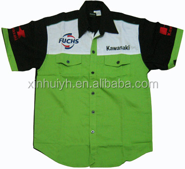 sublimation Racing wear Car Motor Wear Sublimation Racing wear