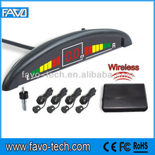 Car Wireless back sensor with Numeral and color LED display