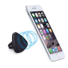 Universal rotating portable air vent magnetic mobile cell phone stand mount car holder/car phone holder for iphone/GPS/PDA