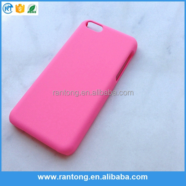 Whosale rubberized coating cell phone case for iphone 6