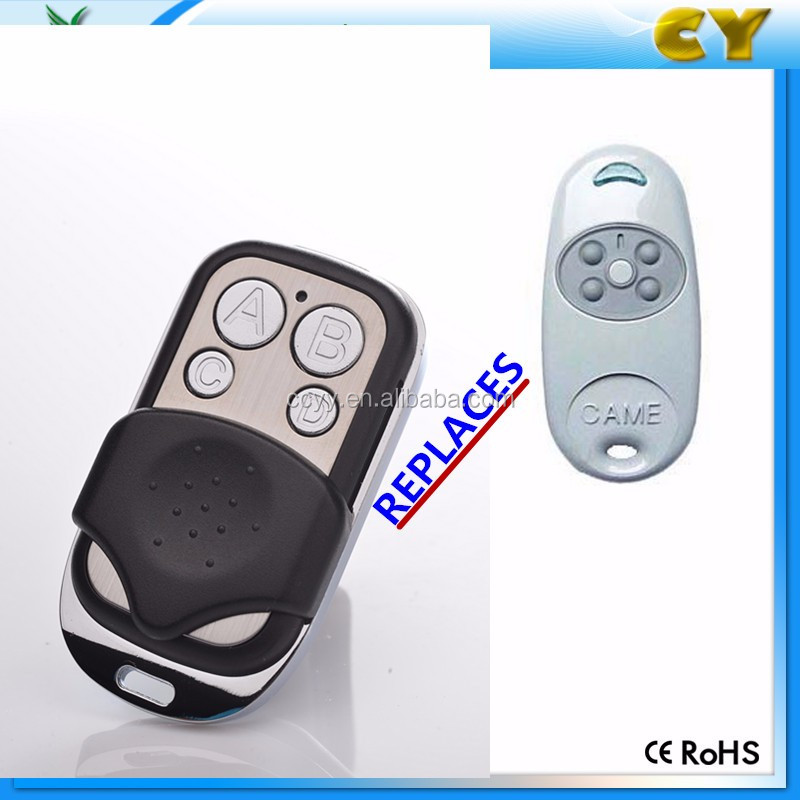 how to set the remote for auto gate