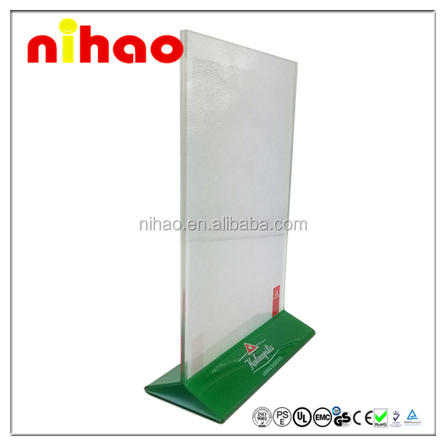 NH-MH-F33 Table Top Acrylic Outdoor Menu Stand