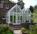 Commercial conservatory modern house glass room