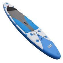 blue kitesurfing board inflatable stand up paddle board, surfing board