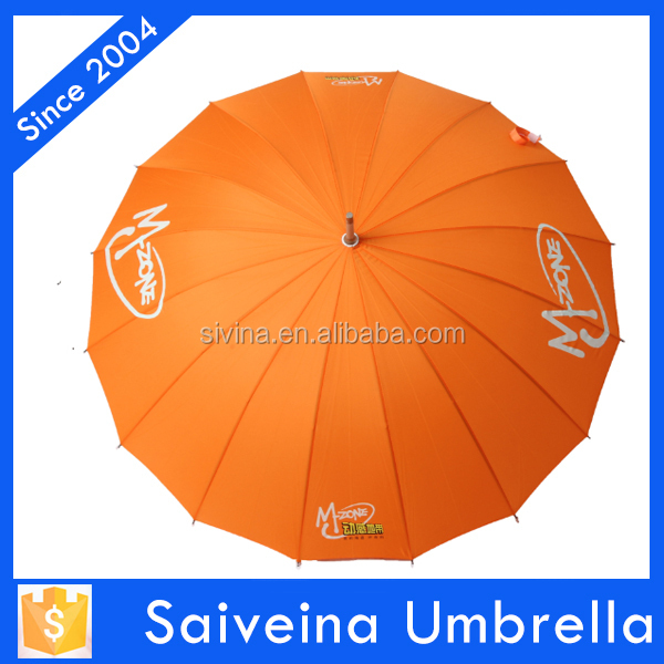 high quality custom photo print Chinese umbrella