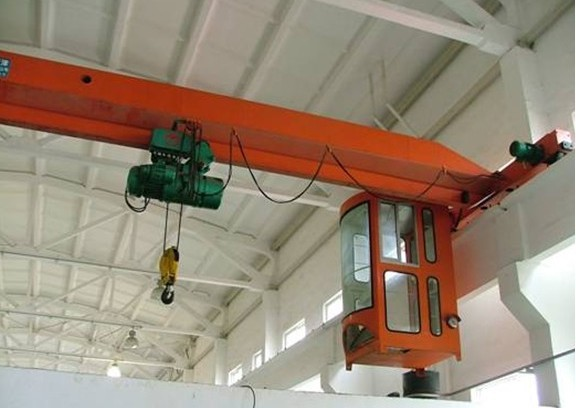 Mechanical Workshop Equipment 5 Ton Single Beam Overhead Crane