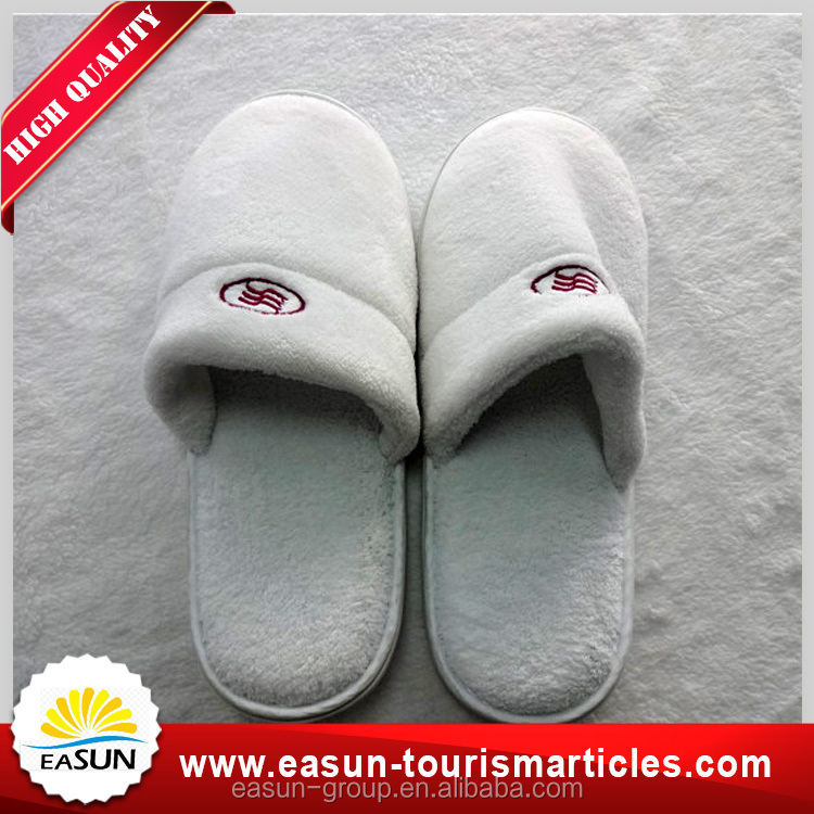 Online wholesale shop white or customized colour cheap kids disposable slippers