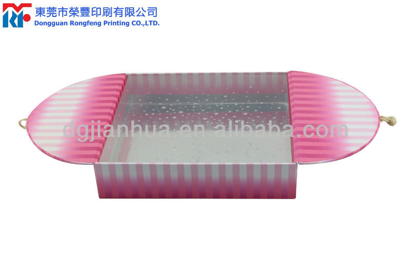 Customized paper cosmetic jar packaging box