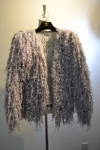 western new fashion crochet elegant knitted bolero