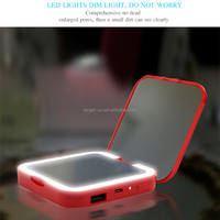 Square Shape Power Bank 3X Magnifying