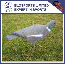Popular Cheap Custom half shell painted pigeon decoy