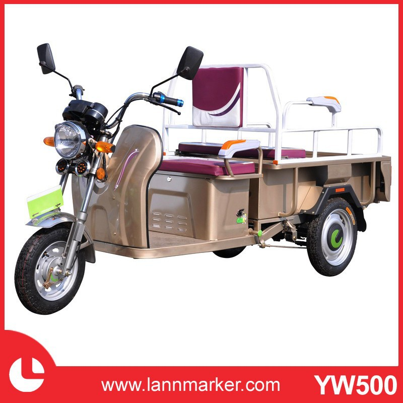 Green Energy Three Wheel Motorcycle Electric Tricycle For Passenger