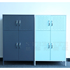 Steel Cabinet Furniture 4 Doors 2 Shelves Living Room Storage Cabinet Design