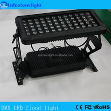 Outdoor building 144W LED flood light DMX512 IP65 LED wall washer light