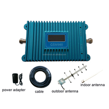 GSM 900mhz Repeater Set with Antenna Cell Phone signal amplifier with LCD Display Screen