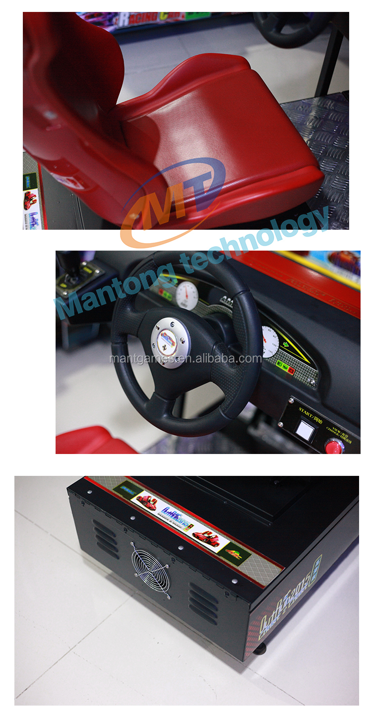 Mantong Popular Out Run Video Electronic Simulator Racing Car Arcade Game Coin Operated Machines