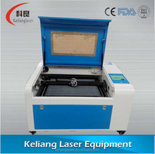 KL460 CHINA CO2 Laser Cutting Machine For Danger Plate