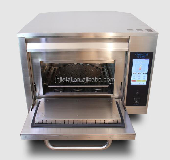 15 times faster than traditional cooking methods, Introducing high speed Toaster with microwave function