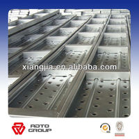 pre-galvanized open steel plank for construction made in China from alibaba golden member