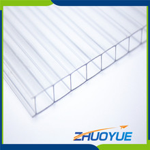 Best price Zhuoyue greenhouse lexan multi-wall polycarbonate sheet