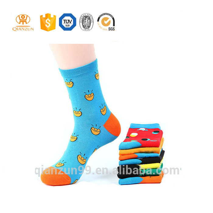 Custom cute girl tube seamless socks for children tube socks