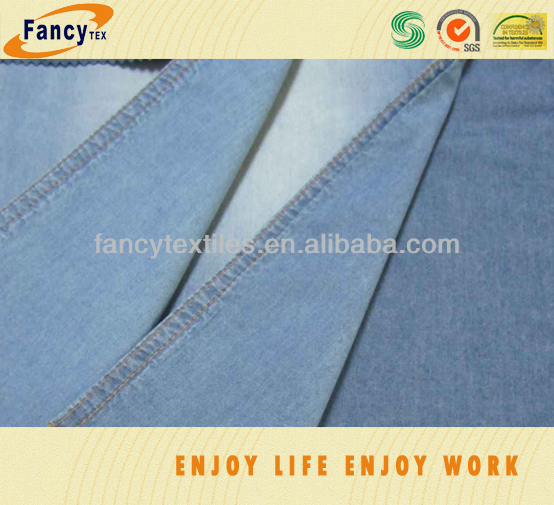 indigo jeans fabric with ready goods