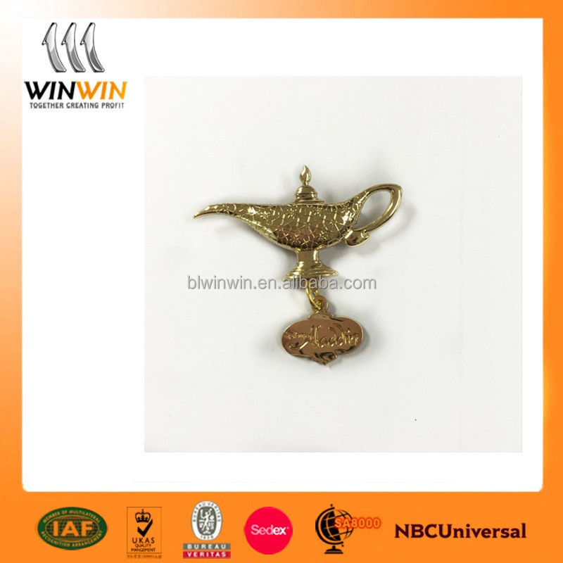 Wonderful lamp High quality metal badge
