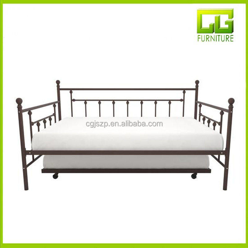 Modern Hot sale modern bedroom furniture metal day bed