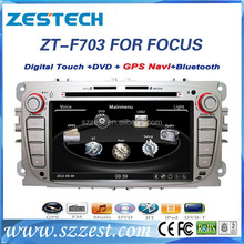 Car multimedia system for FORD FOCUS 2009 2010 2011 2012 2 din 7 inch car dvd player with gps