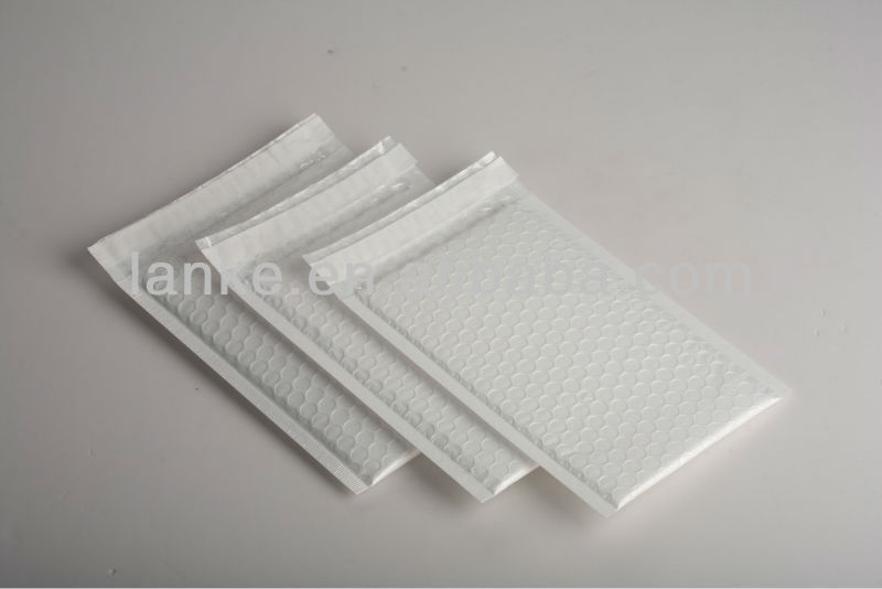 Pearl White Film Bubble Mailer 001k