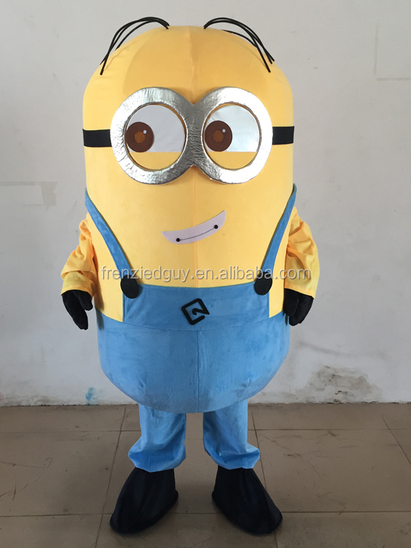 despicable me minion mascot costume for adult FGC-0032