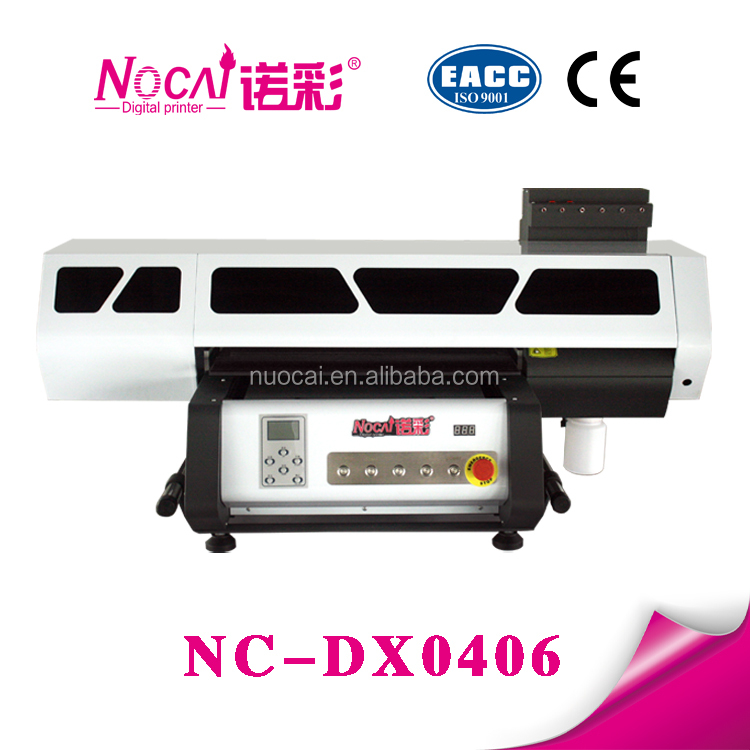 60*40cm Nuocai Leather case printer/TPU phone cd cover printing machine/digital flatbed uv plastic cover printing machine