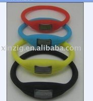 Promotional ion Sport Silicone Wrist band watch