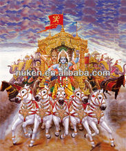Factory low price PP 3d indian god pictures, 3d pictures indian god