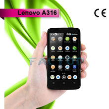 original best 4 inch android smartphone lenovo a316 dual sim card dual standby with CE certificate