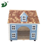 2014 new design of the cheap big wood precast dog house