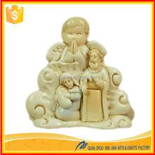 Factory custom made hot new product polyresin native christmas decoration sale of holy family statue