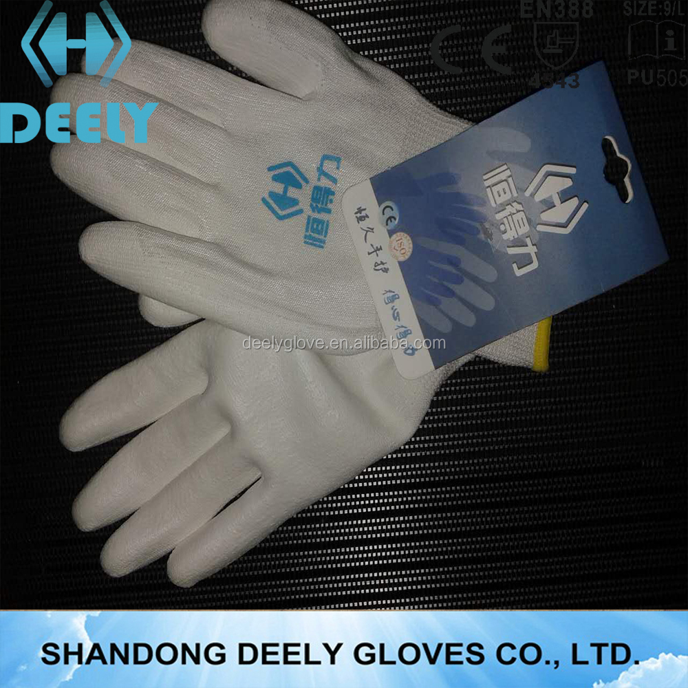 Non slip, air permeability, cut resistant hand gym gloves