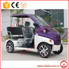 environmental 3 seats middle driving electric car/used electric golf car
