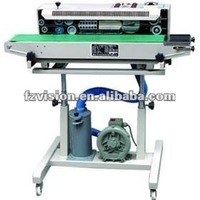 With printing Continuous Automatic bag filling machine with air filler
